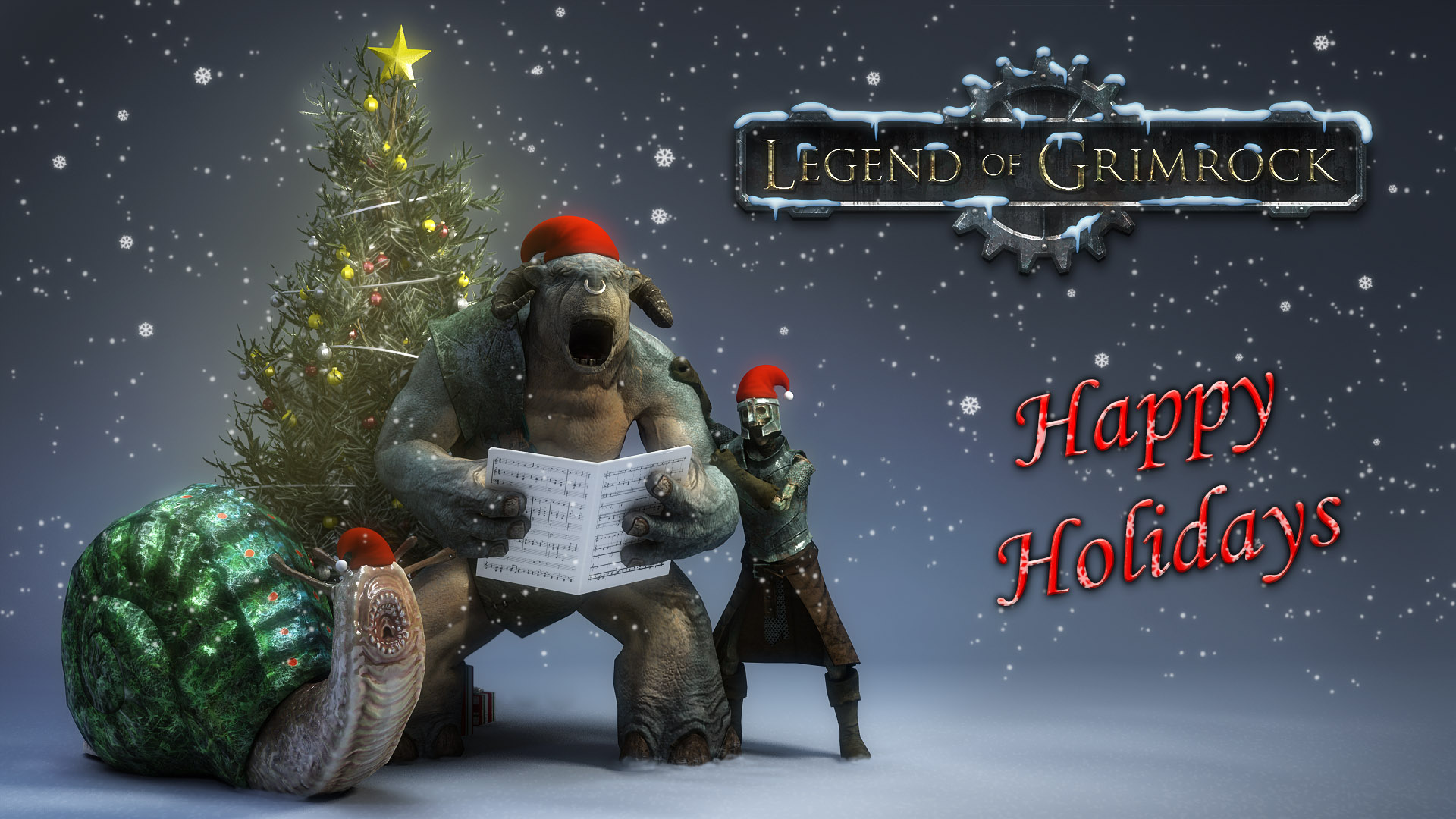 Merry Christmas and a Happy New Year! » Legend of Grimrock