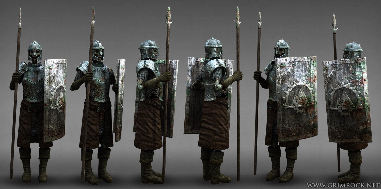 Undead Warrior Concept Art