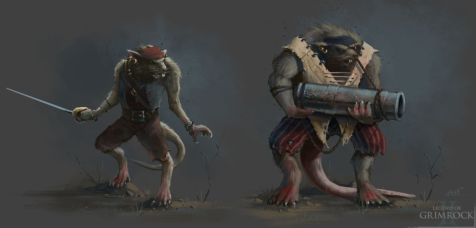 RPG old school : Dungeon Master, Eye Of Beholder, Grimrock.. - Page 3 Ratlings_concept_art