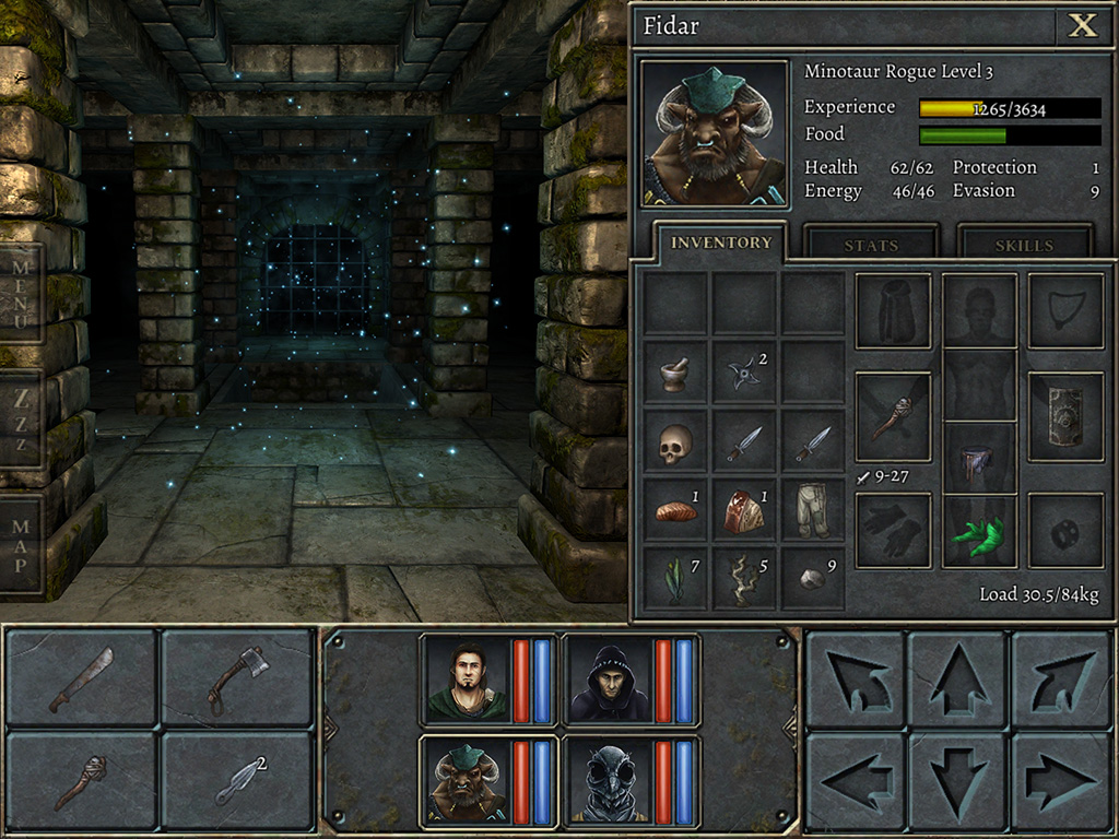 legend_of_grimrock_ipad_screenshot_1